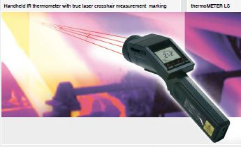 Micro Epsilon ThermoMETER LS Handheld Thermometer With Laser Aiming